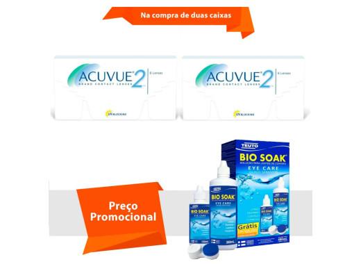 Acuvue 2 com Bio Soak