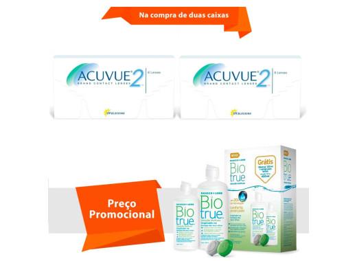 Acuvue 2 com BioTrue