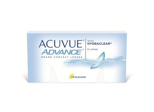 Acuvue Advance com Hydraclear