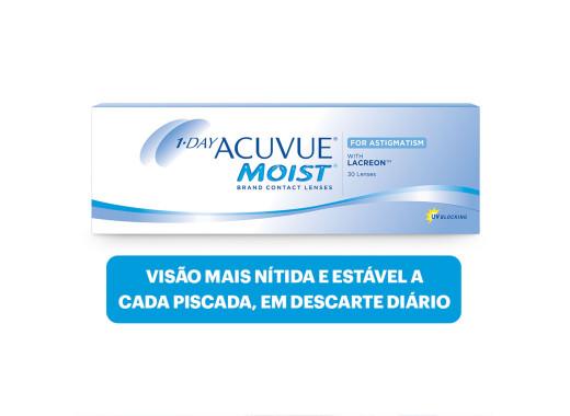 Acuvue 1 Day Moist para Astigmatismo