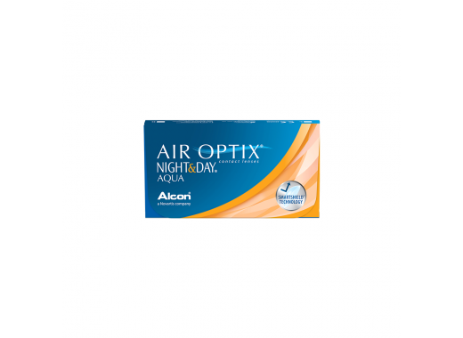 Air Optix Night & Day Aqua com Aqua Clean