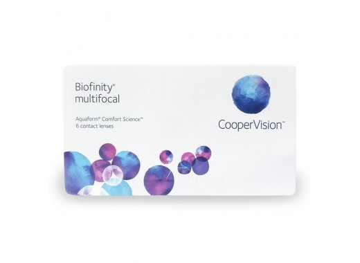 Biofinity Multifocal com Limp Lent