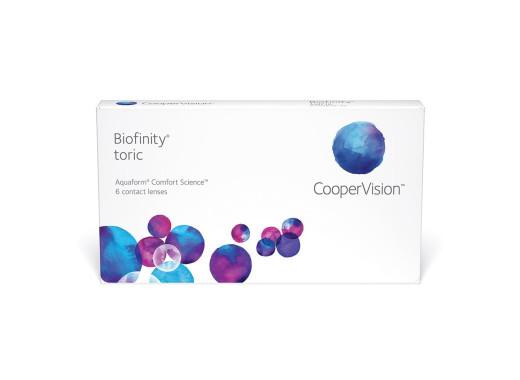 Biofinity Toric com BioTrue