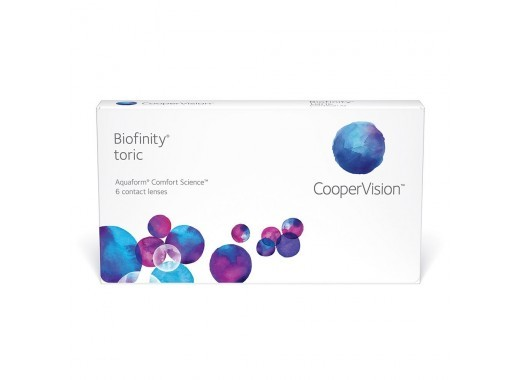 Biofinity Toric com Bio Soak