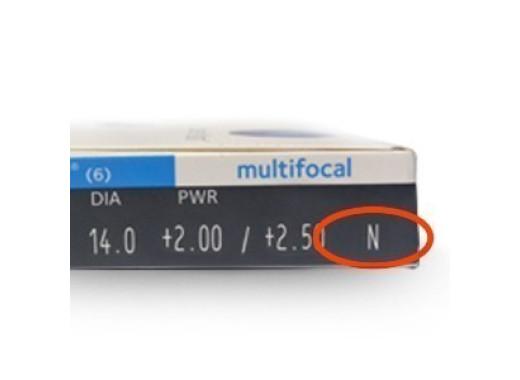 Biofinity Multifocal com Biotrue