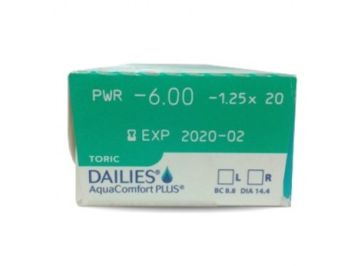 Dailies AquaComfort Plus Toric 1 Day