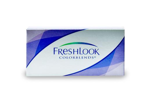 Freshlook Colorblends com Grau e Opti Free