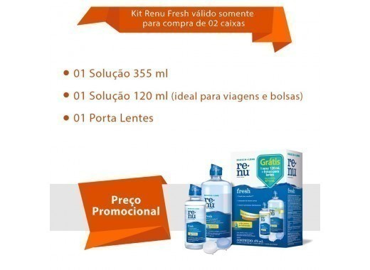Avaira Vitality com Renu Fresh