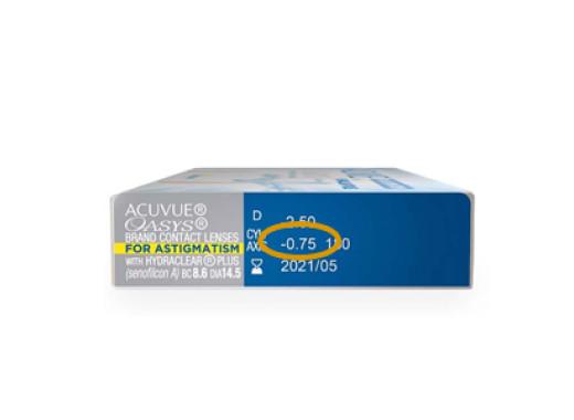 Acuvue Oasys para Astigmatismo com Hydraclear Plus com Opti Free