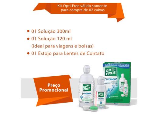 Lente Ultra com Opti Free