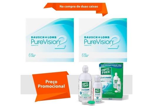 Purevision 2 com Opti Free