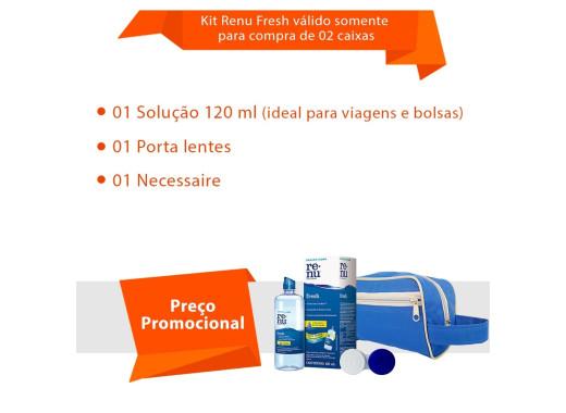 Acuvue 2 com Kit Renu Fresh