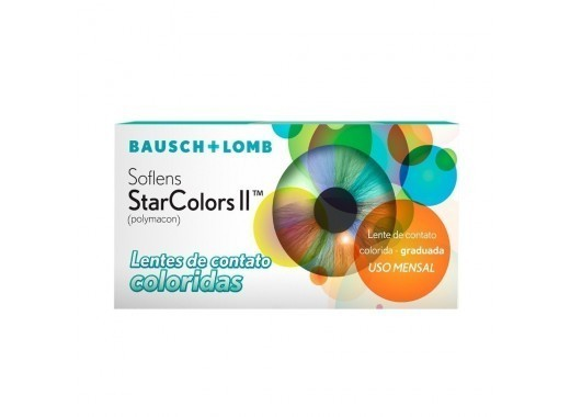 Soflens Starcolors II Com Grau