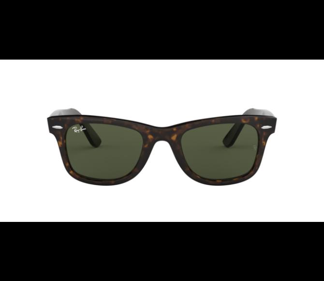 Óculos de Sol Ray-Ban Wayfarer RB 2140 902 Verde e Havana 54
