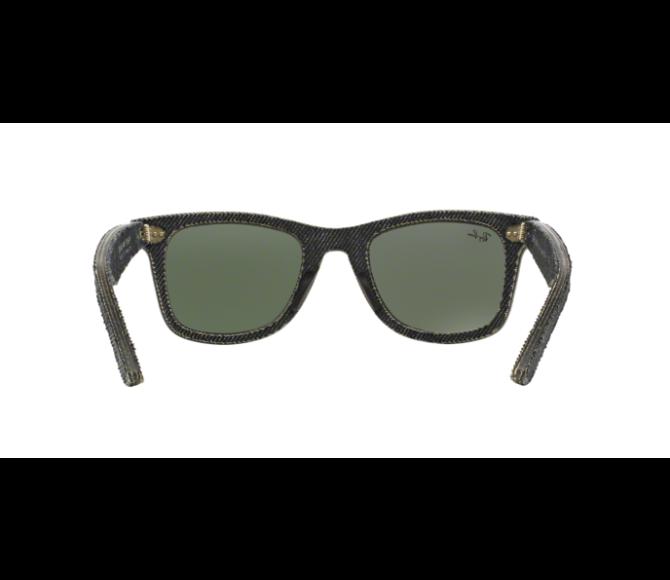 Óculos de Sol Ray-Ban Wayfarer RB 2140 1162 Verde e Jeans Escuro 50