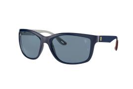 Óculos de Sol Ray-Ban Ferrari RB 8356M Dark Blue e Blue 61
