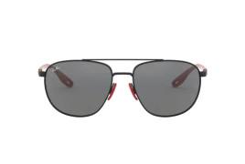 Óculos de Sol Ray-Ban Ferrari RB 3659M Grey Mirror Silver e Matte Black 57