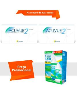 Acuvue 2 com Limp Lent