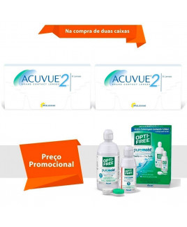 Acuvue 2 com Kit Opti Free