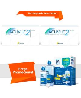 Acuvue 2 com Renu Fresh