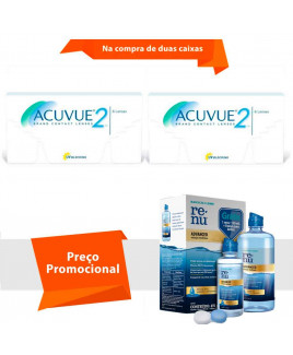 Acuvue 2 com Renu Advanced