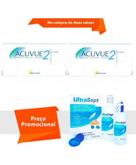 Acuvue 2 com UltraSept