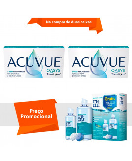 Acuvue Oasys Transitions com Renu Sensitive