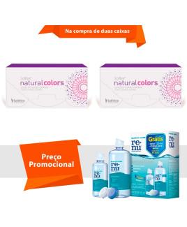 Solflex Natural Colors com Grau e Renu Sensitive