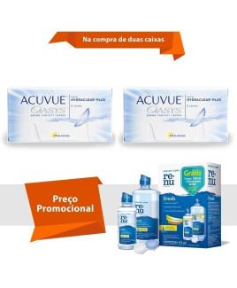 Acuvue Oasys com Hydraclear Plus com Renu Fresh
