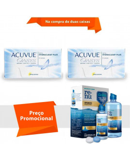 Acuvue Oasys com Hydraclear Plus com Renu Advanced