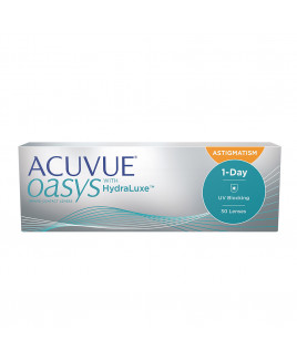 Acuvue Oasys 1-Day com Hydraluxe Astigmatismo