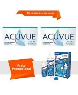 Acuvue Oasys Transitions com Bio Soak