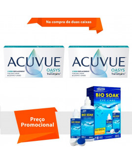 Acuvue Oasys Transitions com Bio Soak
