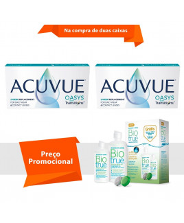 Acuvue Oasys Transitions com BioTrue