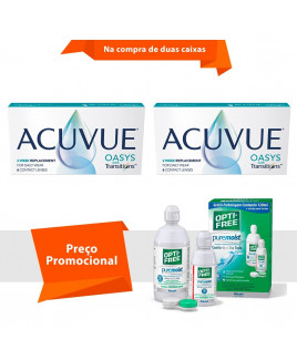 Acuvue Oasys Transitions com Opti Free