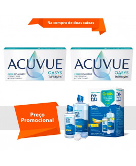 Acuvue Oasys Transitions com Renu Fresh