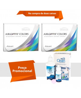 Air Optix Colors sem Grau com Aqua Clean