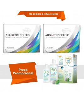 Air Optix Colors com Grau com BioTrue