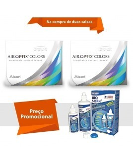 Air Optix Colors com Grau com Bio Soak