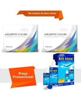 Air Optix Colors sem Grau com Bio Soak