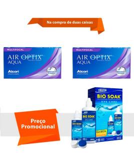 Air Optix Aqua Multifocal com Bio Soak