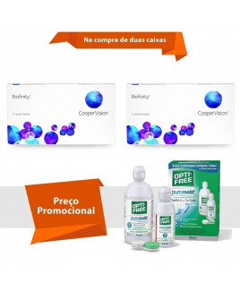 Biofinity com Opti Free