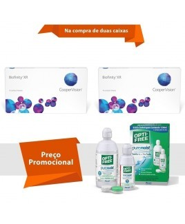 Biofinity XR com Opti Free