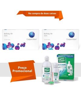 Biofinity XR Toric  para Astigmatismo com Opti Free
