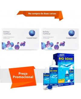 Biofinity Multifocal com Bio Soak