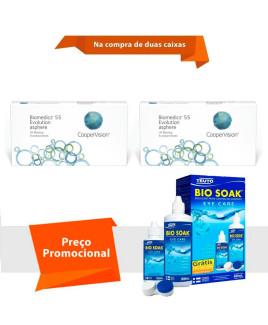 Biomedics 55 Evolution com Bio Soak