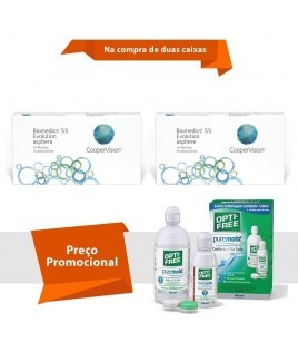 Biomedics 55 Evolution com Opti Free