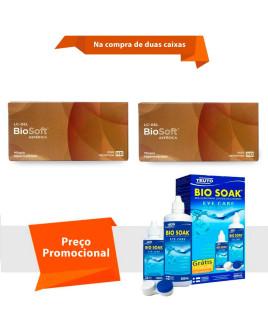 BioSoft Asférica Com Bio Soak