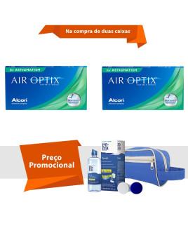 Air Optix para Astigmatismo com Kit  Renu Fresh