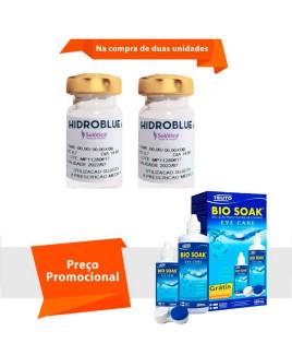 Hidroblue UV Tórica para Astigmatismo Com Bio Soak